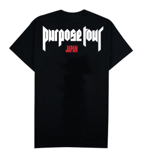 Purpose Tour Japan T-Shirt《Black》