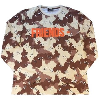 <img class='new_mark_img1' src='//img.shop-pro.jp/img/new/icons1.gif' style='border:none;display:inline;margin:0px;padding:0px;width:auto;' />FRIENDS Brown Camo Sweater Long Sleeve《Brown Camo》