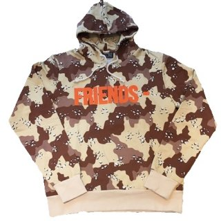<img class='new_mark_img1' src='//img.shop-pro.jp/img/new/icons1.gif' style='border:none;display:inline;margin:0px;padding:0px;width:auto;' />FRIENDS Brown Camo Pullover Hoodie《Brown Camo》