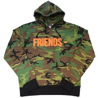 <img class='new_mark_img1' src='//img.shop-pro.jp/img/new/icons1.gif' style='border:none;display:inline;margin:0px;padding:0px;width:auto;' />FRIENDS Green Camo Pullover Hoodie《Green Camo》