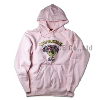 Centerpiece Hooded Sweatshirt《Pale Pink》