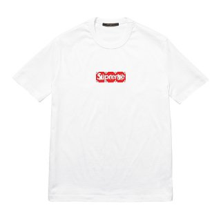 Supreme×Louis Vuitton Box Logo Tee《White》