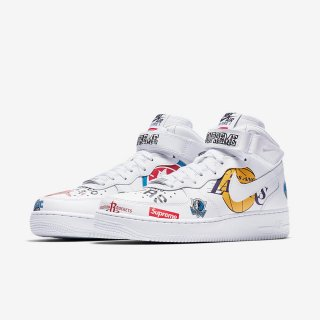 Supreme?/Nike?/NBA Teams Air Force 1 Mid