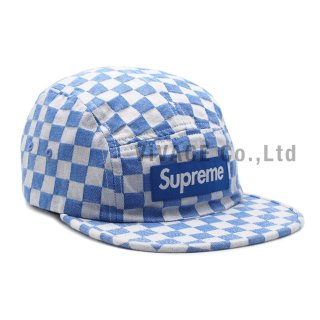 Checkerboard Camp Cap