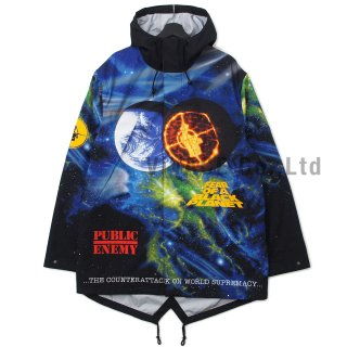 Supreme?/UNDERCOVER/Public Enemy Taped Seam Parka