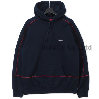 Piping Hooded Sweatshirt