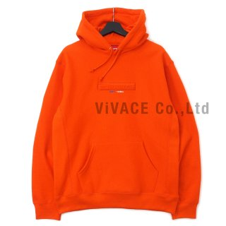 Embossed Logo Hooded Sweatshirt