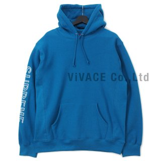 Sleeve Embroidery Hooded Sweatshirt