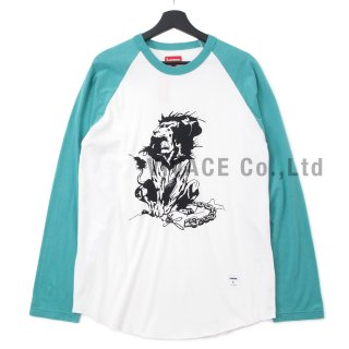 Lion Raglan Baseball Top