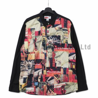 Supreme?/Comme des Gar?ons SHIRT? Patchwork Button Up Shirt