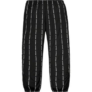 Reflective Text Track Pant