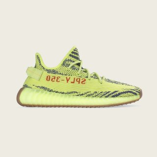 "YEEZY BOOST 350 V2 ""SEMI FROZEN YELLOW""《Semi Frozen Yellow / Raw Steel / Red》"