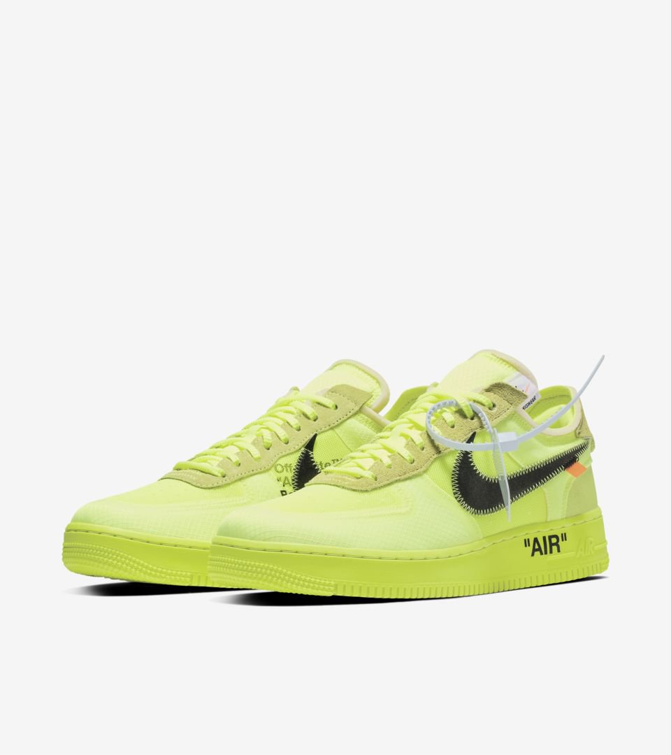OFF-WHITE THE TEN AIR FORCE 1 LOW \