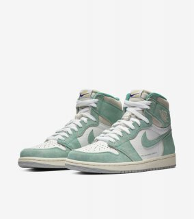 AIR JORDAN 1 RETRO HIGH OG TURBO GREEN《Turbo Green/White-Sail-Light Smoke Grey》