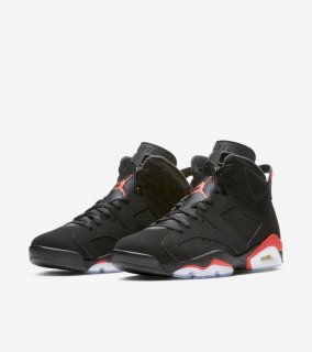 AIR JORDAN 6 RETRO OG INFRARED《Black/Infrared》