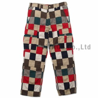 Patchwork Cargo Pant