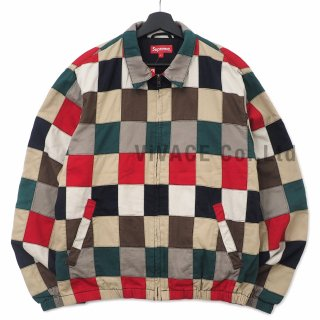 Patchwork Harrington Jacket