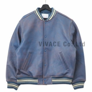 <img class='new_mark_img1' src='//img.shop-pro.jp/img/new/icons16.gif' style='border:none;display:inline;margin:0px;padding:0px;width:auto;' />Leather Varsity Jacket