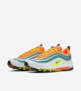 AIR MAX 97 OA JL LONDON SUMMER OF LOVE《Black/Reflect Silver-Blue Lagoon》