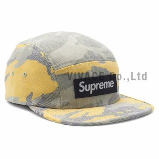 Washed Out Camo Camp Cap