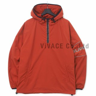 Nylon Ripstop Hooded Pullover