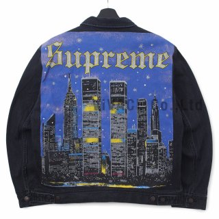 New York Painted Trucker Jacket