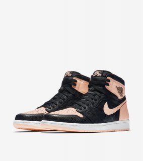 AIR JORDAN 1 RETRO HIGH OG BLACK CRIMSON TINT《Black/Crimson Tint-Hyper Pink-White》