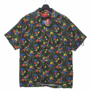 Mini Floral Rayon S/S Shirt