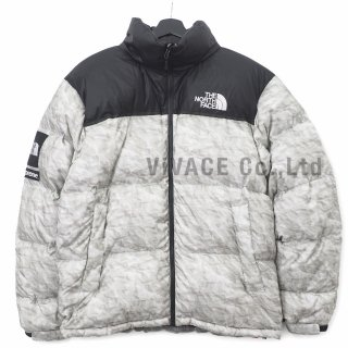 Supreme®/The North Face® Paper Print Nuptse Jacket