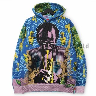 Miles Davis Hooded Sweatshirt
