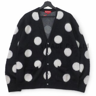 Brushed Polka Dot Cardigan
