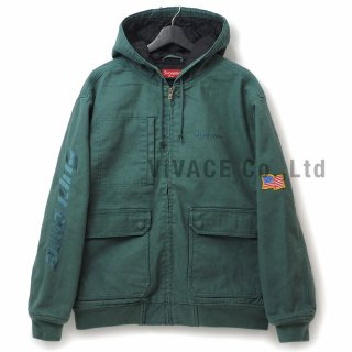 Canvas Hooded Work Jacket
