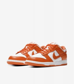 DUNK LOW SYRACUSE ORANGE《White/Orange Blaze》