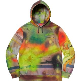 Rammellzee/Supreme Hooded Sweatshirt