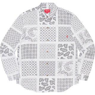 Paisley Grid Shirt