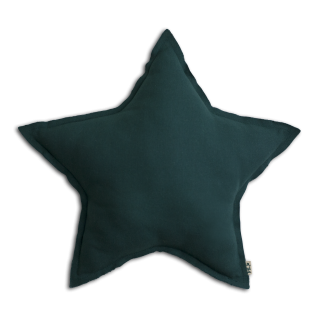 numero74 Mini Star Cushions Deep 星形クッション Sサイズ  / teal blue