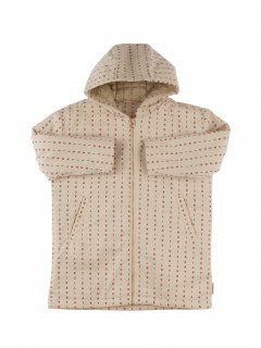 <img class='new_mark_img1' src='//img.shop-pro.jp/img/new/icons20.gif' style='border:none;display:inline;margin:0px;padding:0px;width:auto;' />tinycottons alphabet soup oversized jacket    beige/red   50%off  6y last one!