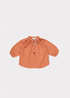 <img class='new_mark_img1' src='//img.shop-pro.jp/img/new/icons20.gif' style='border:none;display:inline;margin:0px;padding:0px;width:auto;' />CARAMEL   HADDON  BABY BLOUSE /  PERSIMMON WITH EMBROIDERED 50%off