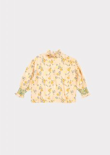 <img class='new_mark_img1' src='//img.shop-pro.jp/img/new/icons20.gif' style='border:none;display:inline;margin:0px;padding:0px;width:auto;' />CARAMEL  LADYBIRD BLOUSE  /  blush painted flower 50%off  8y last one!