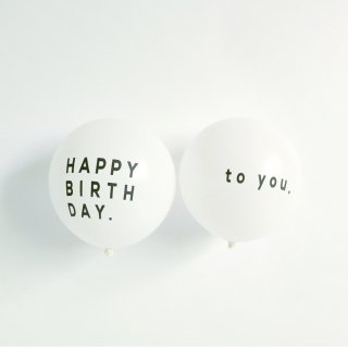 BALLOON  / HAPPY BIRTHDAY to you  5pcs