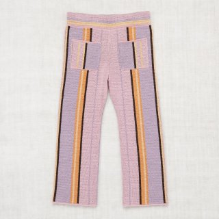 <img class='new_mark_img1' src='//img.shop-pro.jp/img/new/icons20.gif' style='border:none;display:inline;margin:0px;padding:0px;width:auto;' />MISHA&PUFF    Kingston Trouser /Soft Purple Stripe.5-6y last one!  30%0ff