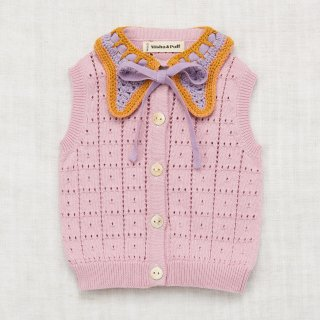 <img class='new_mark_img1' src='//img.shop-pro.jp/img/new/icons14.gif' style='border:none;display:inline;margin:0px;padding:0px;width:auto;' />MISHA&PUFF    Charlie Vest / Soft Purple  3-4y last one!