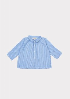 <img class='new_mark_img1' src='//img.shop-pro.jp/img/new/icons14.gif' style='border:none;display:inline;margin:0px;padding:0px;width:auto;' /> CARAMEL  CROCUS  BABY SHIRT  / stripe  2y last one!