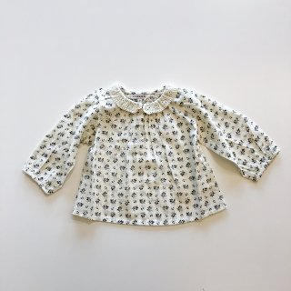 <img class='new_mark_img1' src='//img.shop-pro.jp/img/new/icons14.gif' style='border:none;display:inline;margin:0px;padding:0px;width:auto;' /> CARAMEL  HYDRANGER BABY BLOUSE / Ditsy clover print 12m 18m 2y