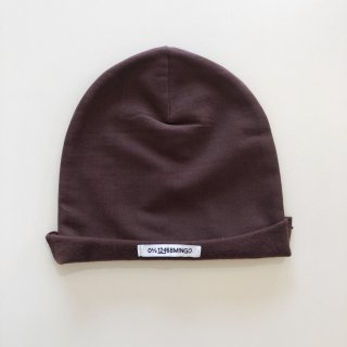 <img class='new_mark_img1' src='https://img.shop-pro.jp/img/new/icons20.gif' style='border:none;display:inline;margin:0px;padding:0px;width:auto;' />MINGO  Beanie  /  Bitter chocolate 40%off. 1-4y last one!