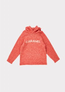 <img class='new_mark_img1' src='https://img.shop-pro.jp/img/new/icons20.gif' style='border:none;display:inline;margin:0px;padding:0px;width:auto;' />CARAMEL    Hermes knit  hoodie  /  nectarine 3y 4y 6y 40%off