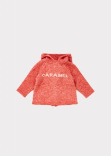 <img class='new_mark_img1' src='https://img.shop-pro.jp/img/new/icons20.gif' style='border:none;display:inline;margin:0px;padding:0px;width:auto;' />CARAMEL    Hermes  Baby  knit  hoodie  /  nectarine  2y 40%off