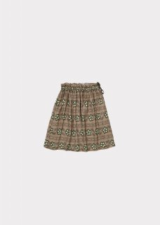 <img class='new_mark_img1' src='https://img.shop-pro.jp/img/new/icons20.gif' style='border:none;display:inline;margin:0px;padding:0px;width:auto;' />CARAMEL    Aetna skirt  / polka flower print putty  3y last one!  40%off
