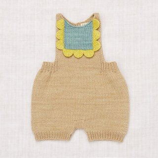 <img class='new_mark_img1' src='//img.shop-pro.jp/img/new/icons14.gif' style='border:none;display:inline;margin:0px;padding:0px;width:auto;' />MISHA&PUFF   Scallop Bib Romper / alabaster