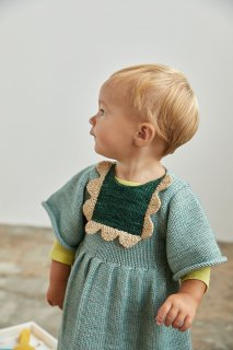 <img class='new_mark_img1' src='//img.shop-pro.jp/img/new/icons14.gif' style='border:none;display:inline;margin:0px;padding:0px;width:auto;' />MISHA&PUFF   Scallop Bib Dress / sage